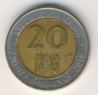 KENYA 2010: 20 Shillings, KM 36.2 - Kenya