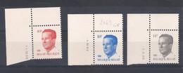 N° 2136 - 2069 - 2352 Tous Avec CD Et **. - 1981-1990 Velghe