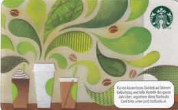 AUSTRIA - How To Make Coffee, Starbucks Card, CN : 0310, Unused - Gift Cards