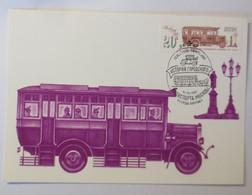 Sonderkarte, Bus,    UDSSR  1981 ♥ (225) - Bus