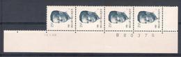 Bande De 4 N° 2356** Avec CD 10.I.90. - 1981-1990 Velghe