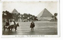 Cairo  18 Vue Des Pyramides De Ghizeh - El Cairo