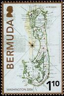 Bermuda - 2006 - Old Map Of Bermuda - Stamp Exhibition Washington '06 - Mint Stamp - Bermuda
