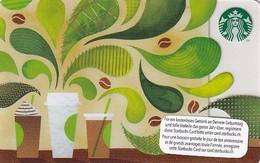 SWITZERLAND - How To Make Coffee, Starbucks Card, CN : 0096, Unused - Gift Cards