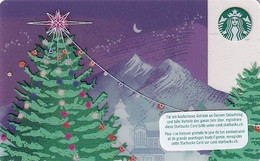 SWITZERLAND - Christmas, Starbucks Card, CN : 0096, Unused - Gift Cards