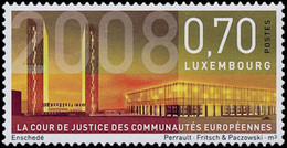 LUXEMBOURG Cour Européenne Justice 08 1v Neuf ** MNH - Neufs