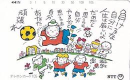 JAPAN - Cartoon, NTT Telecard 105 Units(291-249), 12/93, Used - Comics