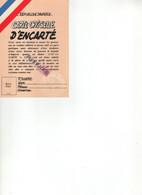 CARTE OFFICIELLE D ENCARTE - Gewerkschaften