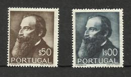 Portugal N°740, 741 Neufs** Cote 7 Euros - 1910-... République