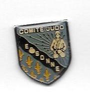 Pin's  Département, Sport  COMITE  JUDO  ESSONNE  ( 91 ) - Judo