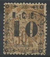Nouvelle Caledonie (1891) N 12 (o) - Usados