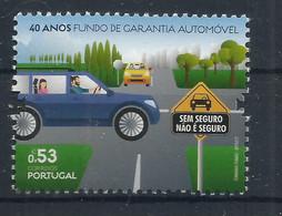 Portugal 2020 , 40 Anos Fundo De Garantia Automövel - Postfrisch / MNH / (**) - Unused Stamps