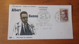 FRANCE (1967) ALBERT CAMUS - Zonder Classificatie