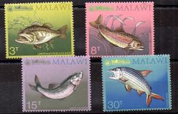 Malawi Serie Nº Yvert 213/19 ** PECES (FISHS) - Malawi (1964-...)