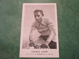 Fausto COPPI - Sélectionné Par O.C.B. Papier à Cigarettes - Cycling