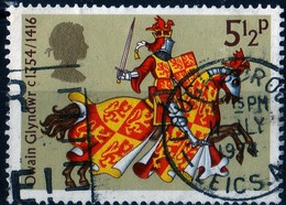 Grande Bretagne 1974 Owain Glyndwr / Chevalier 5 1/2 P Michel N° 655 - Used Stamps