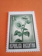 ARGENTINE - ARGENTINA - Timbre 1970 : Fleurs (Tournesols) - Argentina