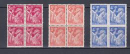 FRANCE   Y&T N ° 654 655 Et 656  NEUF ** - 1939-44 Iris