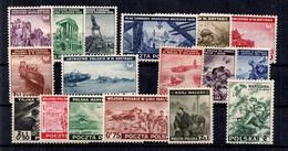 Pologne Timbres D'exil YT N° 1/8, N° 9/16 Et N° 21 Neufs ** MNH. TB. A Saisir! - 1939-44: World War Two