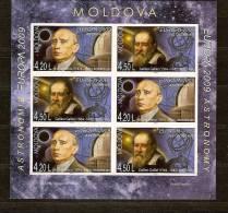 Cept 2009 Moldova Moldavie Yvertn°  565-566a *** MNH Feuillet Non Dentélé Cote 30 Euro - Europa-CEPT