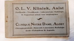 6 Postkaarten - Aalst  O.L.V. Kliniek - Aalst