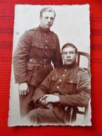 MILITARIA -  ARMEE BELGE D'occupation En Allemagne à Coblence -  Photo De Soldats Belges - Regimientos