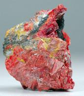 Getchellite Con Orpimento (Chajdarkan, Khirghizstan) - Lot. S361 - Minéraux