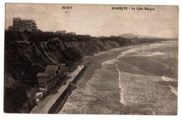 Cpa Biarritz La Cote Basque Circulee En 1921 - Biarritz