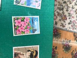 GIAPPONE I FIORI  1 VALORE - Postzegels