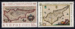 Cyprus - 1969 - 1st Intl Congress Of Cypriot Studies - Mint Stamp Set - Zypern (Republik)