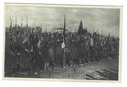 7314 - IL SALUTO DELLA BANDIERA DELLA BRIGATA SASSARI 1920 CIRCA - Regiments