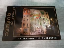 QUEBEC - LA FRESQUE DES QUEBECOIS - EDITIONS BENJAMIN - - Montreal