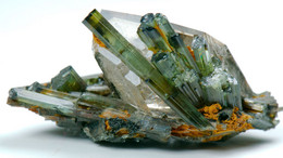 Tormaline Su Quarzo Fumè (Minas Gerais, Brasile) - Lot. S364 - Minéraux