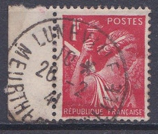 FRANCE   Y&T N ° 433  Belle Oblitération  Luneville - 1939-44 Iris