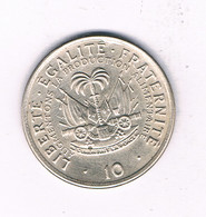 10 CENTIMES 1975 HAITI /7683/ - Haïti