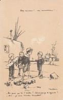 Carte Postale Poulbot N° 15. A. Ternois, Paris. Visé N°15. Des Canons !... Des Munitions ! - Patrióticos
