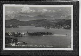 AK 0568  Pörtschach Am Wörthersee Mit Maria Wörth Und Karawanken Um 1931 - Pörtschach