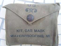 Stock US Ancien/kit Gas Mask Waterproofing MI - 1939-45