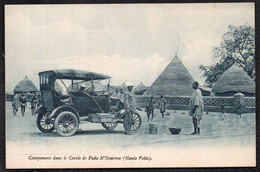 CPA  --  CAMPEMENT DANS LE CERCLE DE FADA N'GOURMA . HAUTE VOLTA . 771.F* - Burkina Faso