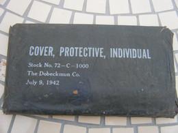 Stock Ancien US/cover Protective Individual July 9 1942 - 1939-45