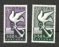 Portugal N°859, 860 Neufs** Cote 4 Euros - 1910-... République