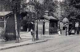 CPA 75 PARIS 4e Station Métro SAINT PAUL Pagode Guimard Place Des Juifs Et Pointe Rivoli Ed. C.L.C. N° 444 - Stations, Underground