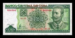 Cuba 5 Pesos Antonio Maceo 2000 Pick 116c SC UNC - Cuba