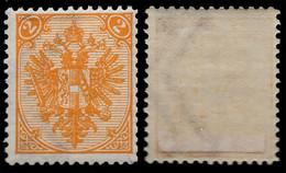 "BOSNIA-AUSTRIA, ""COAT OF ARMS"" 2nd PLATE 2 Kr, WATER MARK ""K"", 1894 RARE!!!!!!!!!! - Bosnia And Herzegovina"