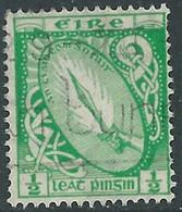 1922-34 IRELAND IRISH FREE STATE USED SG 71 - RD6 - 1922 Governo Provvisorio