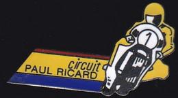 67182- Pin's.circuit Paul Ricard.Moto..signé Saggay. - Motorfietsen