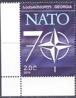 2020. Georgia, 70y Of NATO, 1v, Mint/** - Georgia