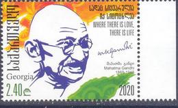 2020. Georgia, Mahatma Gandhi, 1v, Mint/** - Georgia