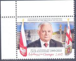 2020. Georgia, L. Kaczynsky, 1v, Joint Issue With Poland, Mint/** - Georgia