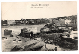 Cpa Biarritz Pittoresque Port Des Pecheurs - Biarritz